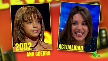Zapeando 'tira' de hemeroteca para recordar el pasado de Ana Guerra: así fueron sus actuaciones en televisión