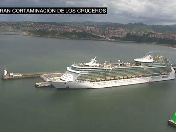 Los cruceros también 'matan' el mar: solo en 2017 contaminaron más que todos los coches del continente