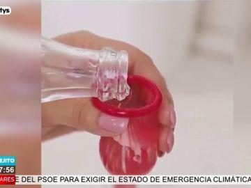 Un preservativo: el mejor truco para eliminar definitivamente el problema de la cal de los grifos