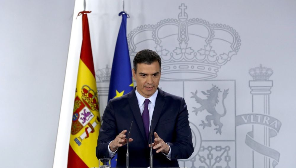 Pedro Sánchez, desde la Moncloa