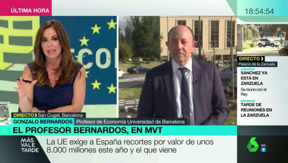 """Gonzalo Bernardos: """"El Gobierno tiene que volver a poner en marcha el Estado de bienestar que está famélico"""""""