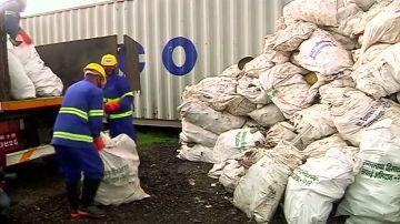 Nepal limpia el Everest: una expedición saca cuatro cadáveres y 11 toneladas de basura