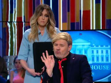 Paco Trump y Melania Simon