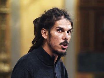 El diputado de Podemos Alberto Rodríguez