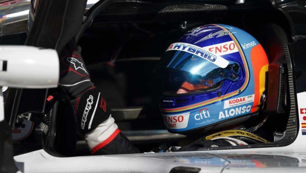 Fernando Alonso disputará su última carrera en el WEC con Toyota