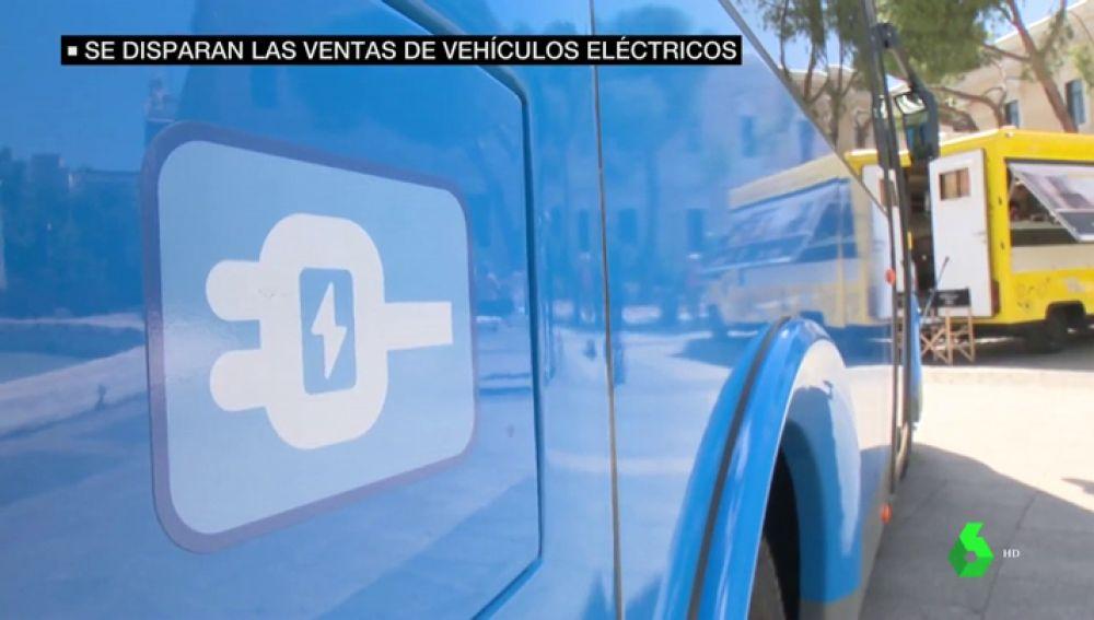 Un autobús eléctrico