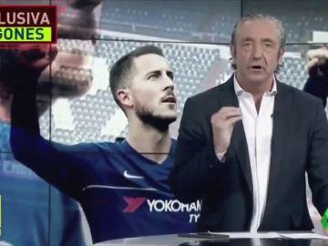 El 'todo o nada' de Pedrerol con Hazard: ¿quién presentará hoy Jugones?