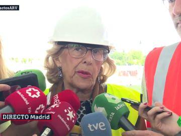 La alcaldesa en funciones de Madrid, Manuela Carmena