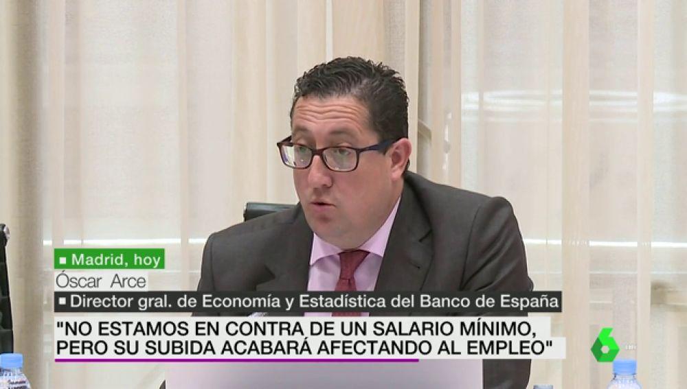 """El Banco de España reitera que la subida del SMI """"tendrá un impacto negativo en el empleo"""" a largo plazo"""