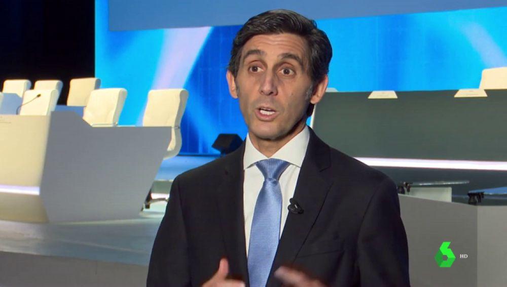 El presiente de Telefónica, José María Álvarez-Pallete