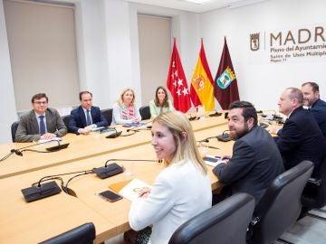 Reunión entre PP y Cs en Madrid