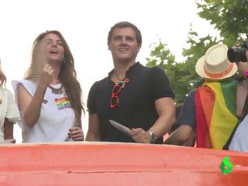 Albert Rivera en el Orgullo LGTBI