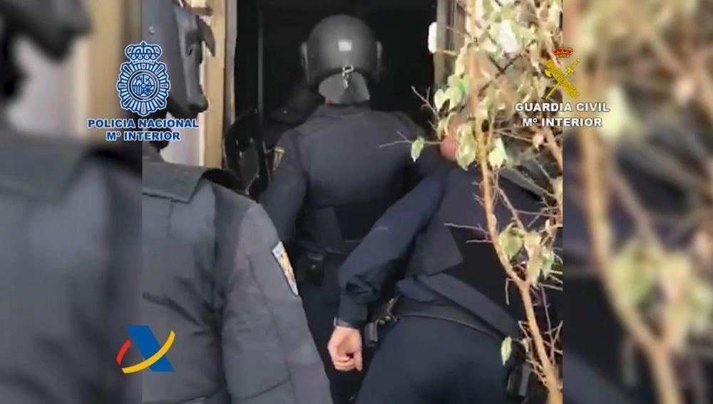 Cae una red de narcotráfico que introducía cocaína a través del Puerto de Algeciras
