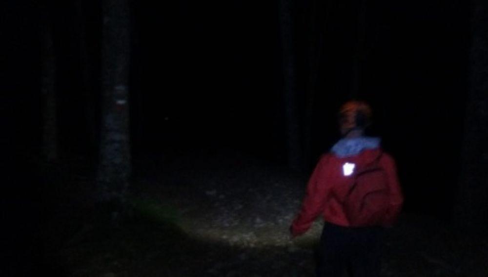 Dispositivo de búsqueda de una peregrina desaparecida