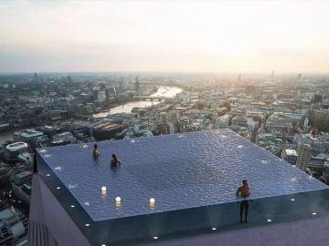 Imagen de la piscina 'infinity' de Londres