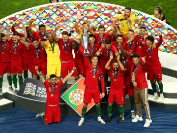 Portugal, campeón de la Nations League
