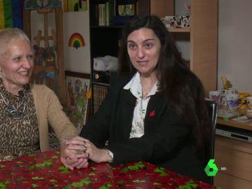Ana María Cabeza y Gema Segoviano, pareja en Encinillas