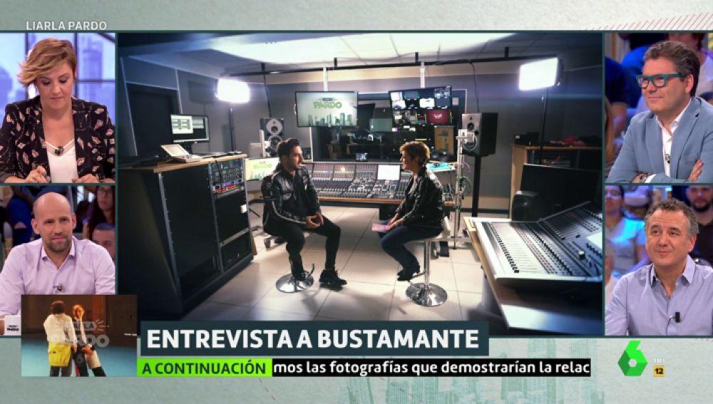 David Bustamante con Cristina Pardo