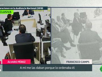 Las contradicciones entre Álvaro Pérez 'El Bigotes' y Camps sobre su amistad en su declaración ante el juez