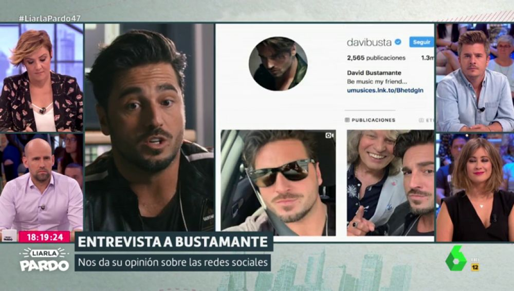 David Bustamante en Liarla Pardo