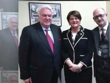 Imagen del cesado cónsul español en Edimburgo