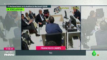 """""""El señor Pérez tampoco es que sea Pau Gasol"""": los momentos más hilarantes de la declaración de Francisco Camps"""