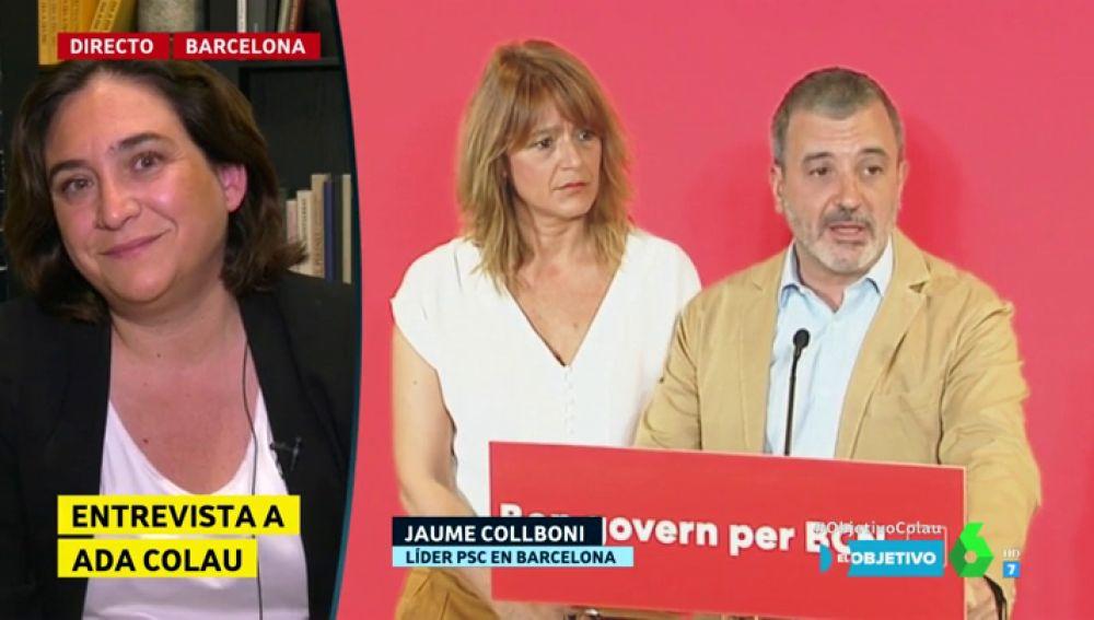 """Ada Colau: """"Si el acuerdo con ERC y PSC no es posible, intentaré hacer el pacto más amplio"""""""