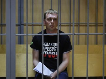 Iván Golunov, periodista ruso detenido