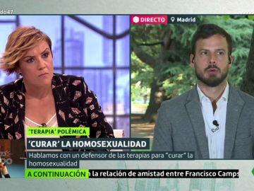 Pardo pone contra las cuerdas al portavoz de Hazte Oír después de que mezcle homosexualidad y violación