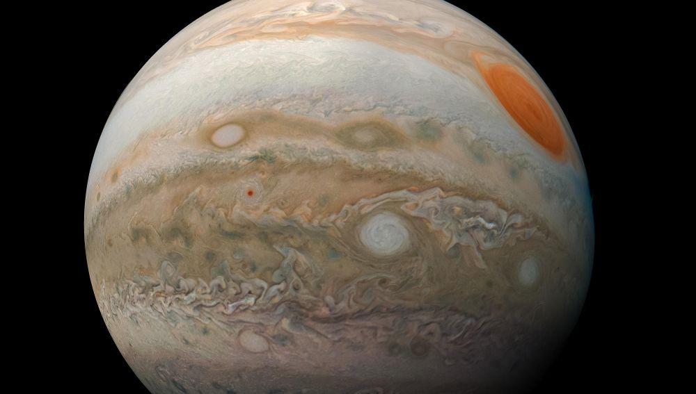El momento exacto en que un meteorito choca contra Júpiter