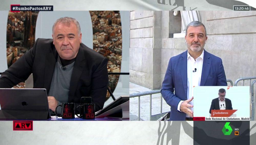 El candidato del PSC al Ayuntamiento de Barcelona, Jaume Collboni