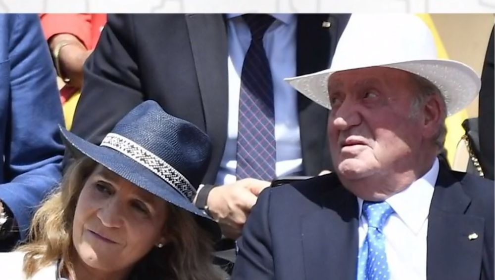 El look del rey Juan Carlos para ver a Rafa Nadal en Roland Garros