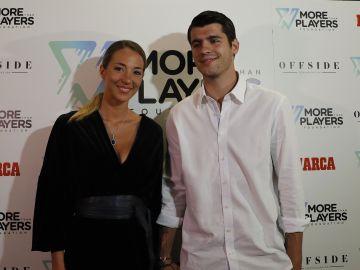 Álvaro Morata y su mujer Alice Campello