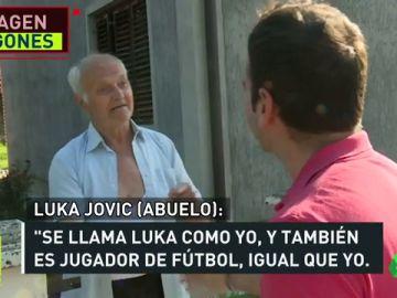"""La familia y el pueblo de Jovic, rendido al joven jugador: """"Siempre le veo cuando juega"""""""