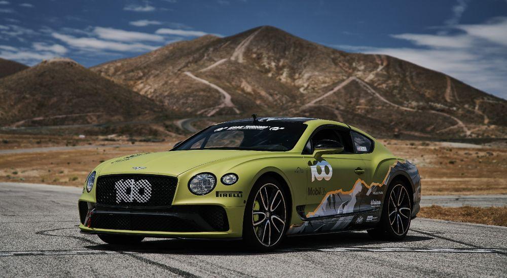 Bentley Continental GT en Pikes Peak 2019