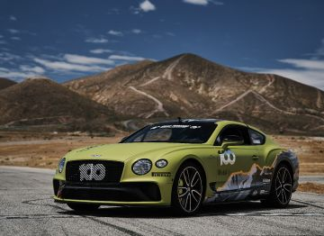 Bentley Continental GT en Pikes Peak 2019