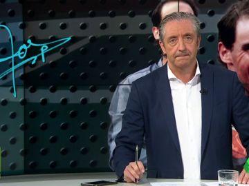 """Josep Pedrerol: """"Nadal, tras su Roland Garros número 12, volvió a dar otra lección de deportividad y de señorío"""""""