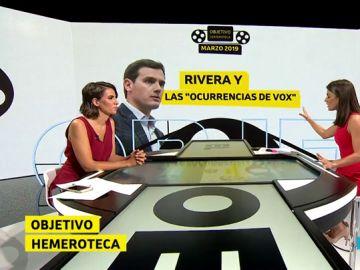Objetivo Hemeroteca: Ciudadanos, de no querer negociar con Vox a sentarse con ellos