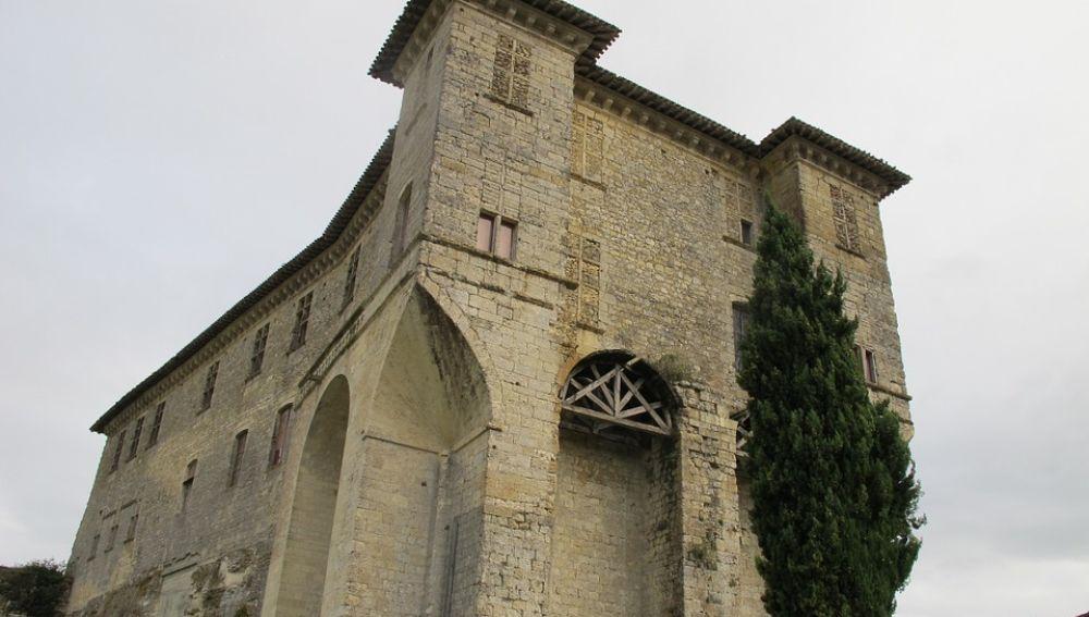 Imagen del castillo de Gascueña