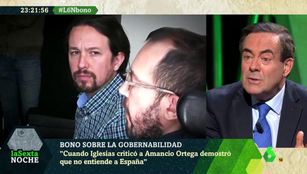 José Bono en laSexta Noche