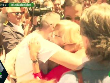 Despedida a Manuela Carmena en Madrid