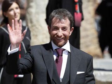 Pablo Motos, en la boda de Sergio Ramos y de Pilar Rubio