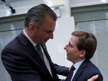 Ortega Smith y Martínez-Almeida