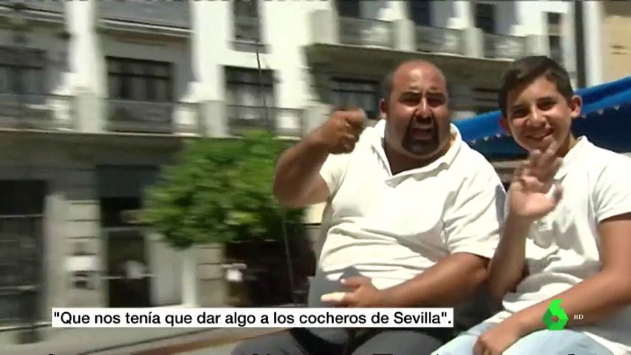 """""""¿Quién nos va a compensar esto?"""", la indignación de taxistas y cocheros por la boda de Sergio Ramos y Pilar Rubio"""