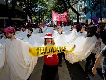Huelga general en Brasil contra la reforma de las pensiones de Bolsonaro