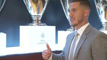 """Eden Hazard ya habla como jugador del Real Madrid: """"Es mi turno, quiero ganar una Champions League"""""""