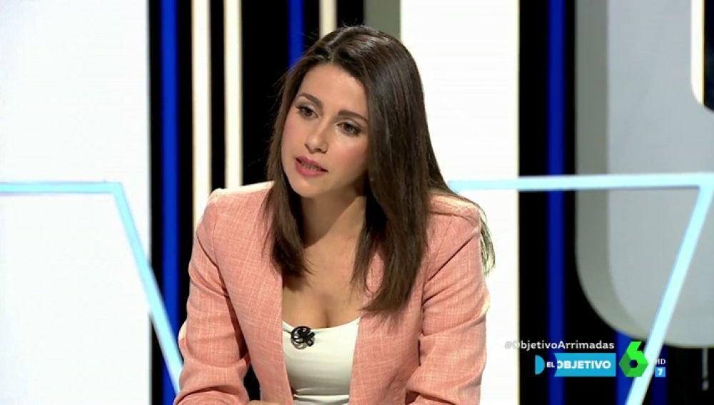"""Inés Arrimadas, sobre la """"violencia intrafamiliar"""": """"Las personas que sufran violencia en el ámbito doméstico tendrán el apoyo de la Junta de Andalucía"""""""