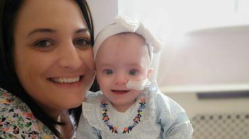 Imagen de una mujer que cumplió su sueño de ser madre tras sufrir 13 abortos