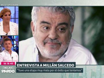 """¿Es posible 'morir' de éxito? Millán Salcedo confiesa que estuvo """"40 días ingresado"""" a consecuencia de la fama"""