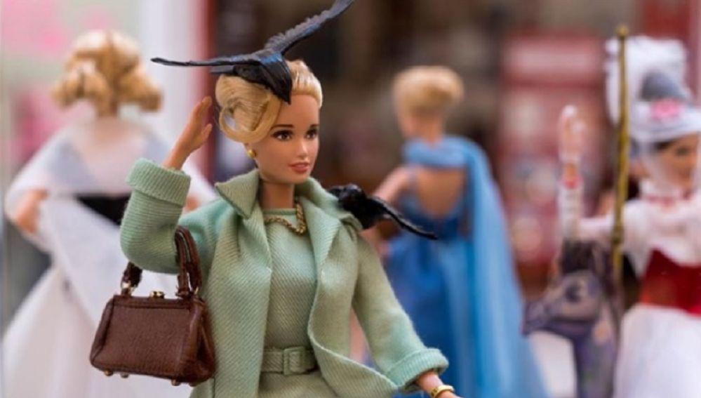 Muñeca Barbie en la exposición
